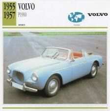 1955-1957 VOLVO P1900 Sports Classic Car Photo/Info Maxi Card