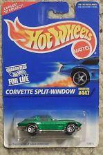 Hot Wheels SPLIT WINDOW CORVETTE w spokes CORVETTE Moc New #447