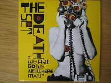 The Death Set : We Are Going Anywhere Man. 4 track PROMO CD EP.
