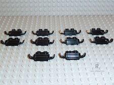 LEGO® City 10x Kotflügel für Auto schwarz Racers Car Grille Zubehör 50949 R804