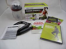 Pro-Form Clean Energy For Pure Power 30-Day Total-Body Makeover Kit w/ Jump Rope