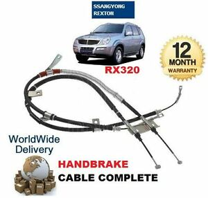 FOR SSANGYONG REXTON RX320 3.2 2/2002-> NEW REAR HAND BRAKE CABLE 4901008300