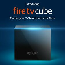 Amazon Fire TV Cube Smart Assistant aw/ Alexa 4K Ultra HD Streaming Media Player