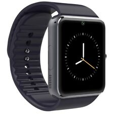 Orologio Bluetooth Smart Watch GT08 per ALCATEL XIAOMI ZTE MEIZU MOTOROLA nero