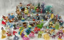 Mixed Lot of 80 Disney PVC Figures Cake Topper Princess Bambi Pooh Toy HTF I1