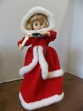 "MOTIONETTE ANIMATED TELCO 18"" HOLIDAY ANGEL girl christmas decoration  vintage"