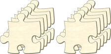 Puzzle vuoti all'infinito, taglia M, Set 10 parti, parti Puzzle in legno, dipingere