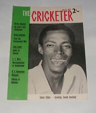 THE CRICKETER JUNE 21ST 1963 - 1ST TEST MATCH ENGLAND V WEST INDIES