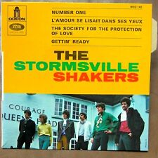 THE STORMSVILLE SHAKERS Number One EP KILLER BEAT GARAGE MINT!