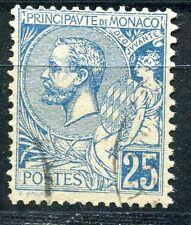 TIMBRE  MONACO N° 25  ALBERT I