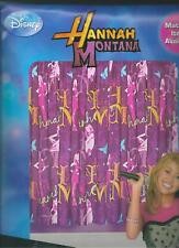 "Hannah Montana 66"" x 54"" Curtains cotton bargain"