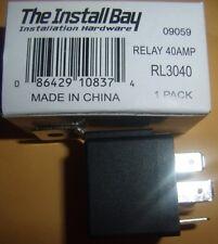 (5) 12V DC Bosch/OEM Type Standard Relay SPDT 30/40 Amp Car Remote Start Alarms