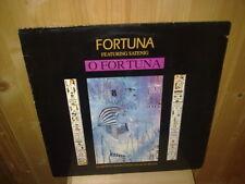 """FORTUNA featuring SATENIG o fortuna 12""""  MAXI 45T"""