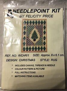 NEEDLEPOINT KIT BY FELICITY PRICE: CHRISTMAS TREE