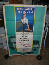 THESE WILDER YEARS, orig 1-sht / movie poster (James Cagney, Barbara Stanwyck)