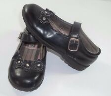 French Toast Dress Shoes Size 10 Toddler Girl Black Adhesive Closure