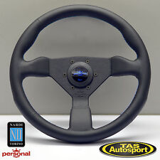 Nardi Personal NEO GRINTA Steering Wheel Black Leather 330mm 6497.33.2096