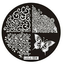 Stamping Schablone Bildplatte Stempel DIY Maniküre Fingernägel Motiv 004