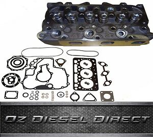 D902 New Complete Cylinder Head for Kubota D902 engine + Full Gasket kit