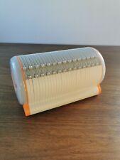 More details for pod designer cd storage holder with organize selector hold upto 60 discs orange