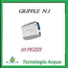 GRIPPLE 1 NUMERO 1 MORSETTO TENDITORE DIAMETRO FILO 1,80-3 mm, 400 KG (10 PEZZI)
