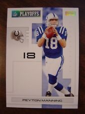 2007 Playoff NFL Gold #/299 Indianapolis COLTS Team Set (6c)