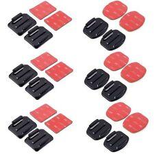12 supporti adesivi 6 piatti e 6 curvi adesivo 3M per GoPro Sj4000 Pro cam SJCAM