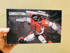IN STOCK Transformers Toy Generation GT-11 Redbull G1 Sideswipe Bull Figure