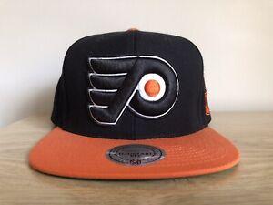 Mitchell & Ness Philadelphia Flyers NHL Snapback Cap Hat Authentic Genuine AS NE