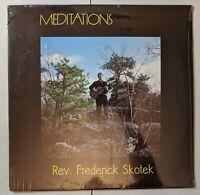 Rev Frederick Skotek - Meditations LP 1974 Private XIAN Folk Acid SEALED