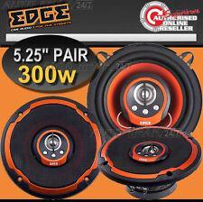 ED205 Edge Audio 5 5.25 in (environ 13.34 cm) 4 Way 300 W 130 mm Voiture Van Porte Orange Cône Haut-parleurs