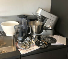 Kenwood Küchenmaschine Chef KVC30 Steel Edelstahl viel Zubehör von 2018