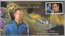 Ca17-007, 2017, Star Trek, Fdc, Captain Archer, Dolim, Enterprise