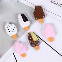 16x28mm Resin Cabochons Chocolate Ice Cream Bar Popsicle Craft Decoration 20 pcs