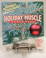 johnny Lightning Holiday Muscle Ornaments 2001 Chrome 442 1:64 010920DBT3