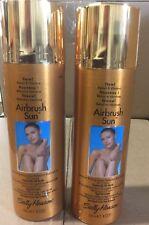 2 X Sally Hansen Airbrush Sun Spray-On Sally Hansen Especially for Body NEW.