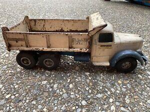 1950's Vintage Smith Miller Blue Diamond Hydraulic Mack Dump Truck All Original