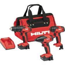 12v Hilti 12 Volt Lithium-Ion 3 Cordless Rotary Hammer Impact Drivers Drill