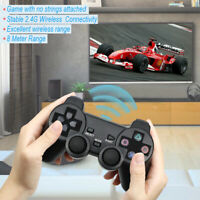1xFor Sony PS2 2.4G Wired/Wireless Twin Shock Gamepad Controller Joystick TV Box