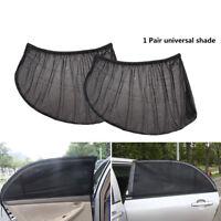 Sun Visor Window Shade 2X Car Rear Side Mesh Cover Shield Sunshade UV Protector