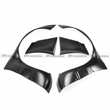 FRP Fiber Front Over Fender Flares Arch For Nissan S13 Silvia 180SX RB Style