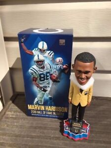 Marvin Harrison Indianapolis Colts Exclusive HOF Bobblehead NFL