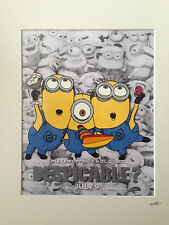 Despicable Me - Minions - Party -  Hand Drawn & Hand Painted Cel