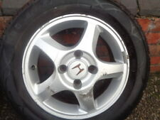 #2 HONDA ACCORD 2001 ALLOY WHEEL 5 SPOKE 4 STUD 195 65 15 TYRE 15 INCH WHEEL