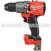 "New Milwaukee 2804-20 M18 FUEL 18V 1/2"" Brushless Cordless Hammer Drill Driver"
