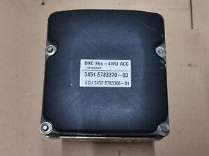 bmw e60 e61 abs pump ecu distronic acc 3451 6783370 & 3452 6783368