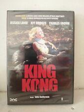 DVD KING KONG JESSICA LANGE NUOVO SIGILLATO