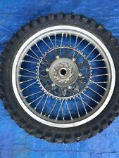 2011 11 Yamaha Yz450f Yz 450f 450 Rear Wheel Assembly Rim Hub Tire Spokes