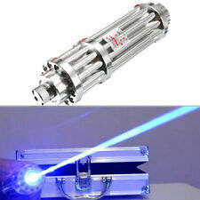 High Power 450nm Focus Visible Blue Beam Laser Pointer Pen Laser Torch Box Set