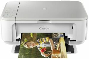 Canon PIXMA MG3650 Wireless All-In-one Inkjet Printer White - No inks